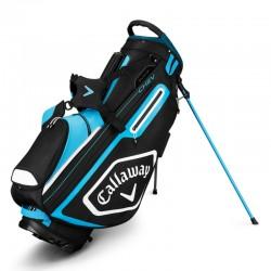 Talega de golf Callaway Chev azul negro y blanca Patitas y cargar