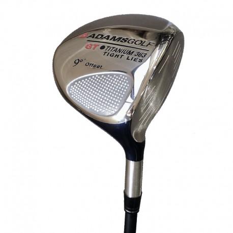 Driver de golf Adams 9° Regular Rayon GT tight lies Titanium 363 palos de golf GS