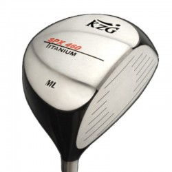 Palos de golf Driver KZG 10.5° Regular SPX 460 ML Titanium Hombre