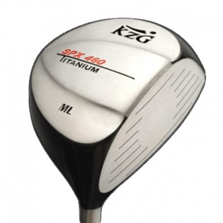Palos de golf Driver KZG 10.5° Regular SPX 460 ML Titanium Hombre