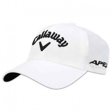Gorra de golf Callaway S/M blanca Tour Authentic Seamless Talla Pequeña a Mediana