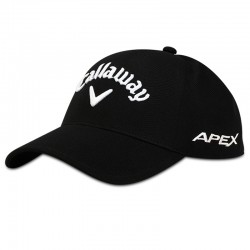 Gorra de golf Callaway S/M negra Tour Authentic Seamless Talla Pequeña a Mediana