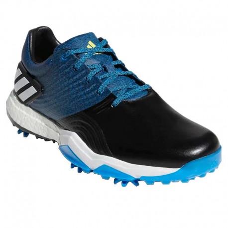 Zapatos de golf Adidas 8M Adipower 4Orged con spikes negro azul y blanco hombre en golfco