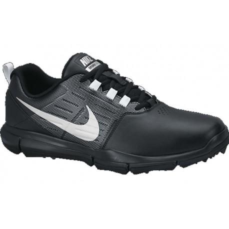 Zapatos de golf Nike 8M Explorer SL sin spikes negro gris y plata hombre