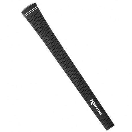 """Grip de golf Karma negro Velour mediano MidSize hierros y maderas 0.6"""" 55gr"""