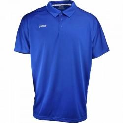 Camiseta de golf Asics M Mediana Azul Royal con blanco hombre Corp Polo