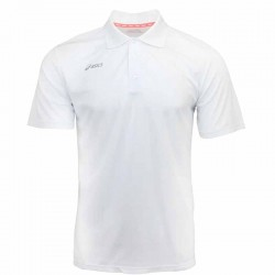 Camiseta de golf Asics M Mediana Blanca hombre Performance Polo