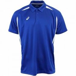 Camiseta de golf Asics XL Extra grande Azul Royal con blanco hombre Resolution Polo