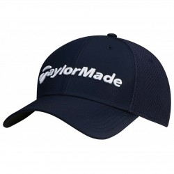 Gorra de golf TaylorMade S/M azul navy performance cage fitted hat
