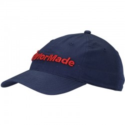 Gorra de golf TaylorMade negra lifestyle tradition lite ajustable talla única
