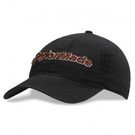 Gorra de golf TaylorMade Negra tradition hat ajustable talla única