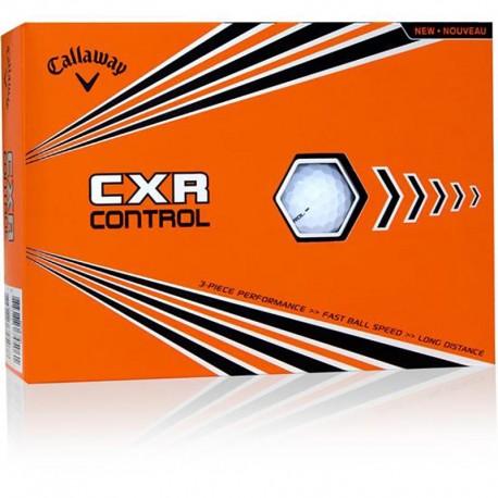 Bolas de golf Callaway CXR Control Blanca Docena