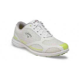 Zapatos Callaway US 7M Dama Solaire Blanco y Verde