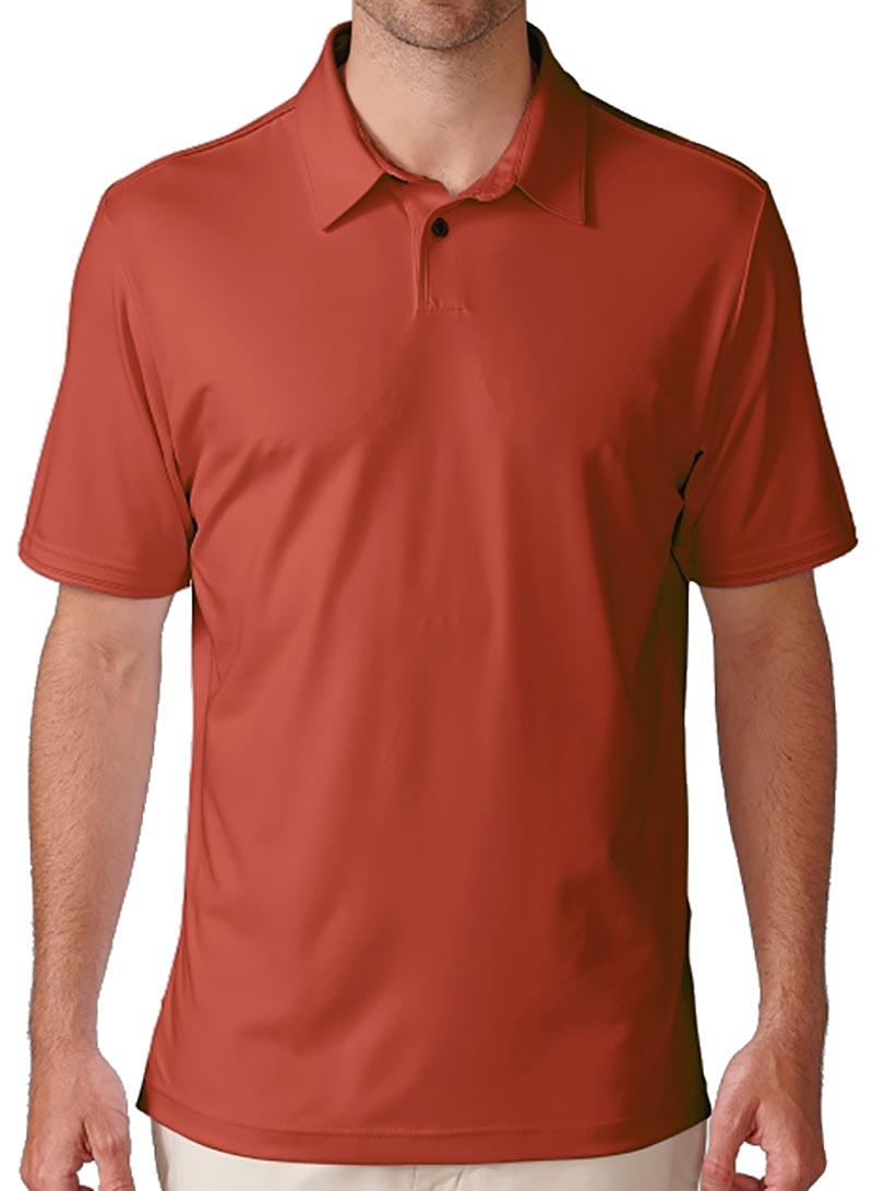 Camiseta de golf ashworth roja flag red solida