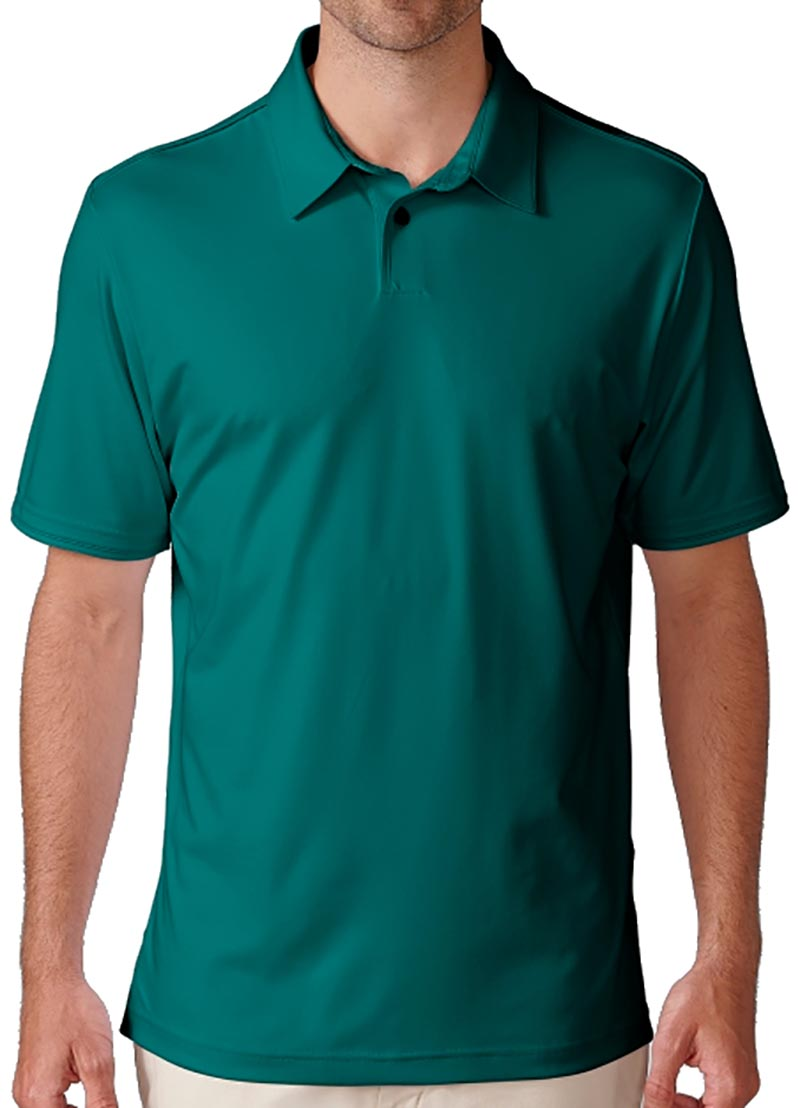 Camiseta de golf ashworth verde mariner green solida