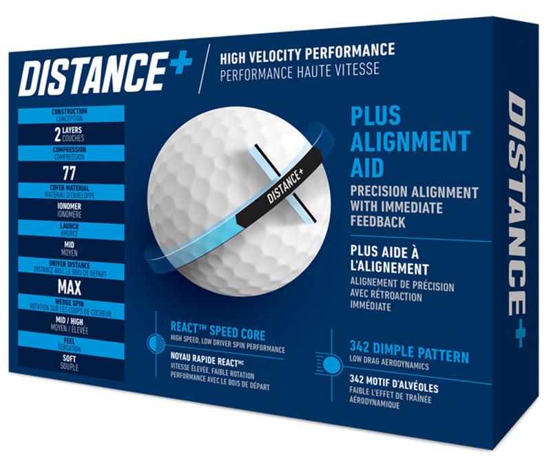 Bolas de golf TaylorMade Distance Plus en golfco 02