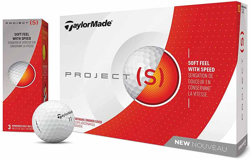 Bolas de golf TaylorMade Project S 2021 02