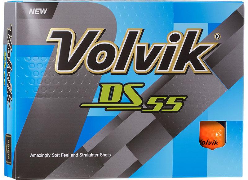 Bolas de golf Volvik DS55 Naranja 01