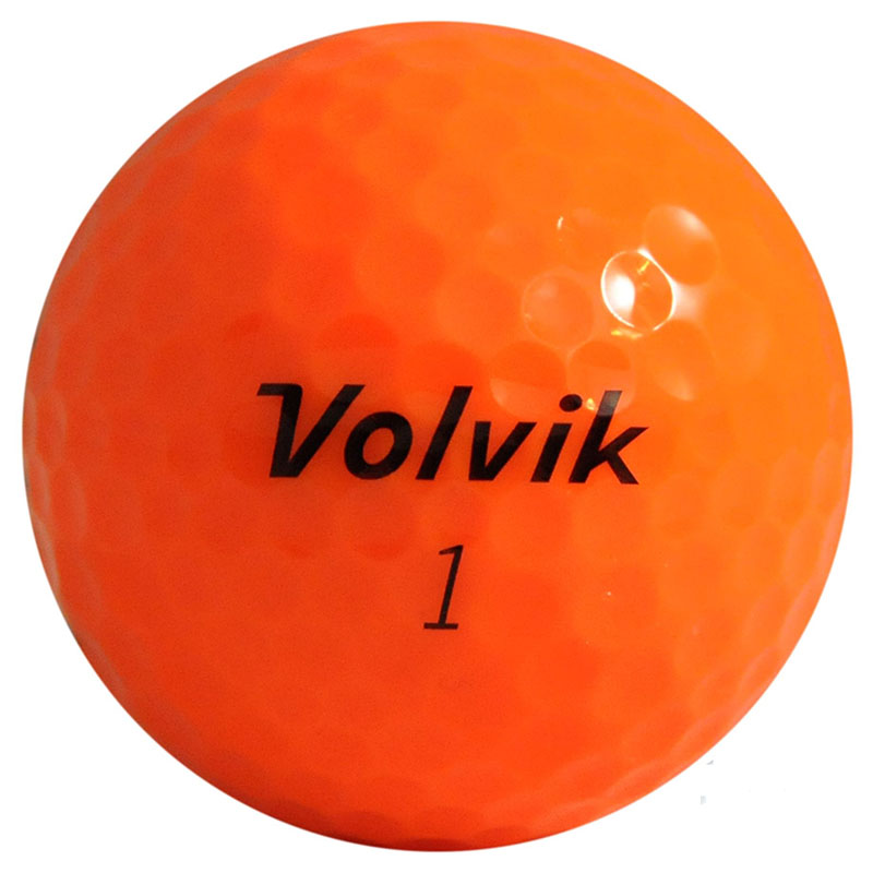 Bolas de golf Volvik DS55 naranja 02