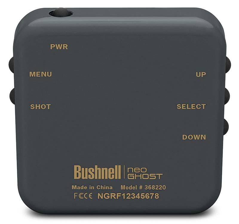 Medidor de golf Bushnell Neo Carbón 03