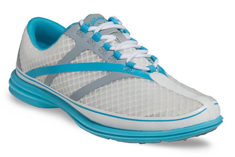 Zapatos de golf Callaway dama Solaire SE Azul 01