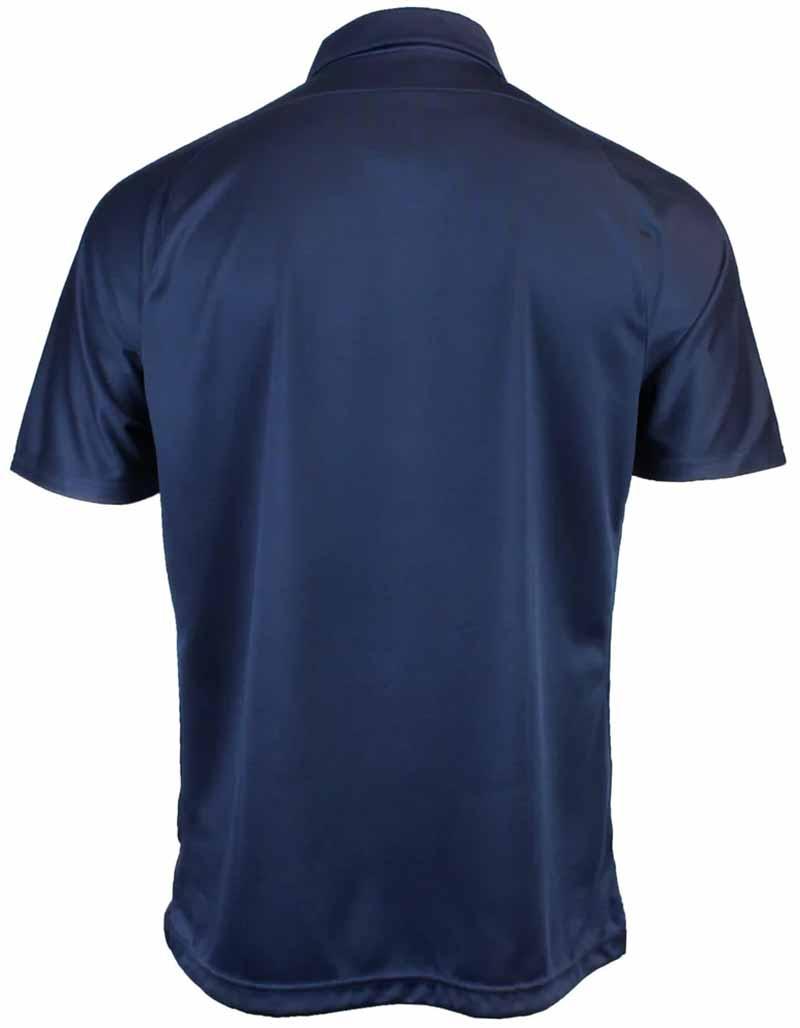 Camiseta de golf asics azul navy blanco Corp 02