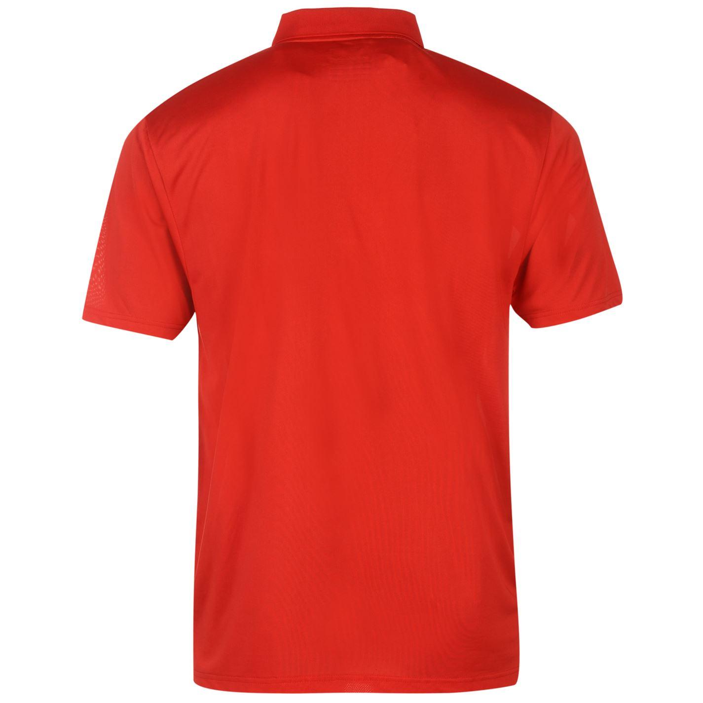 Camiseta de golf dunlop roja