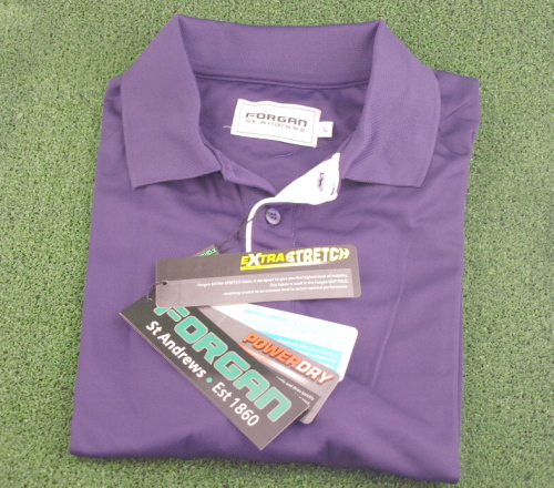Camiseta de golf Forgan Morada