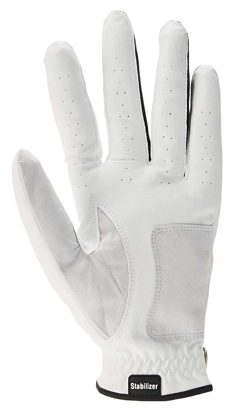 Guante de golf etonic blanco stabilizer 01