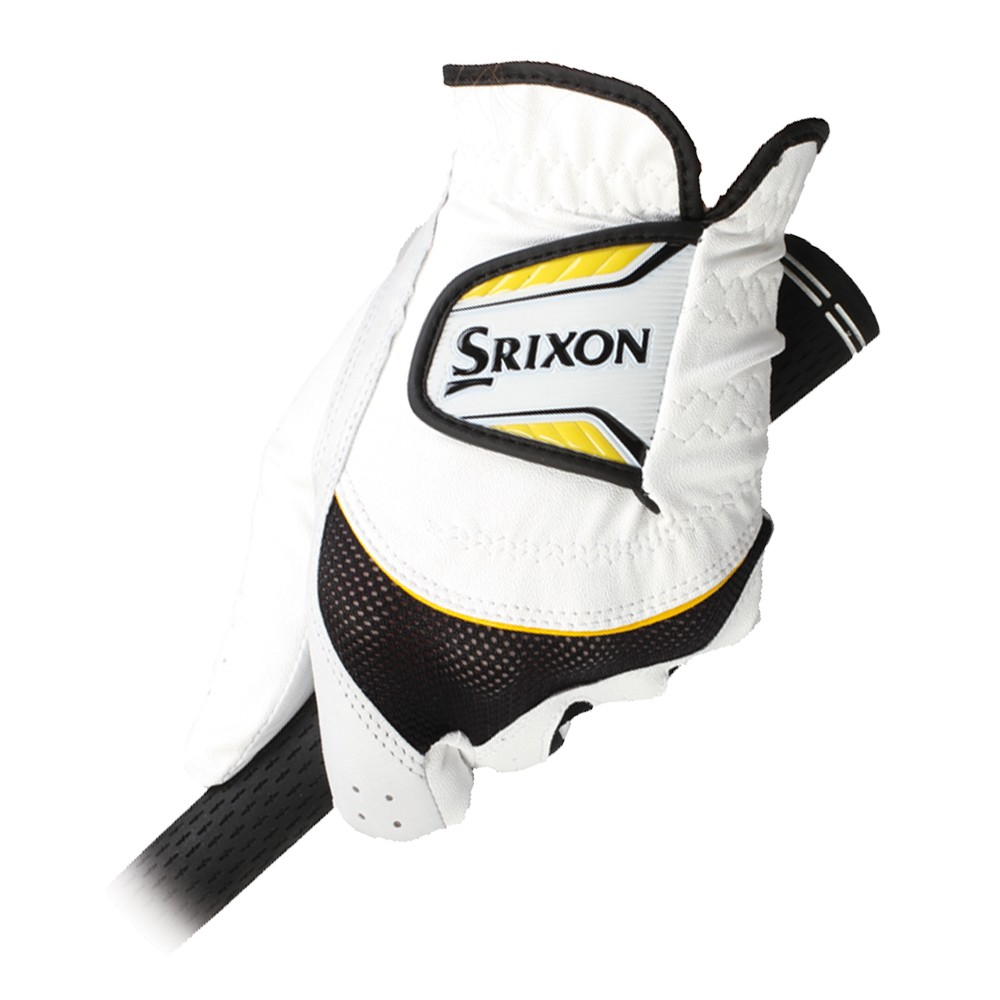 Guante de golf Srixon Tour Yellow hi-brid 01