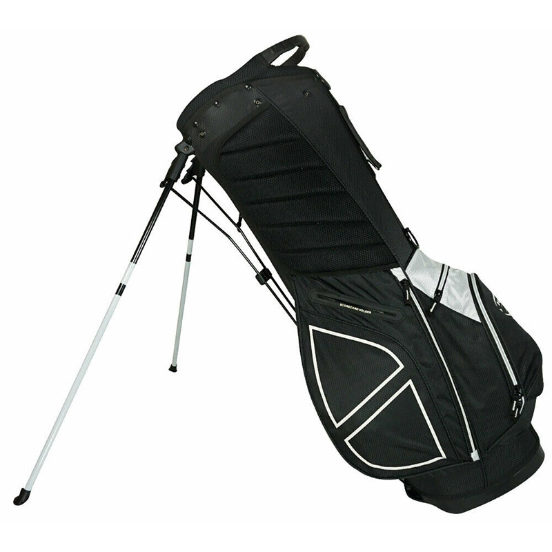 Talega de golf Hot Z Sport Negra palos de golf 03