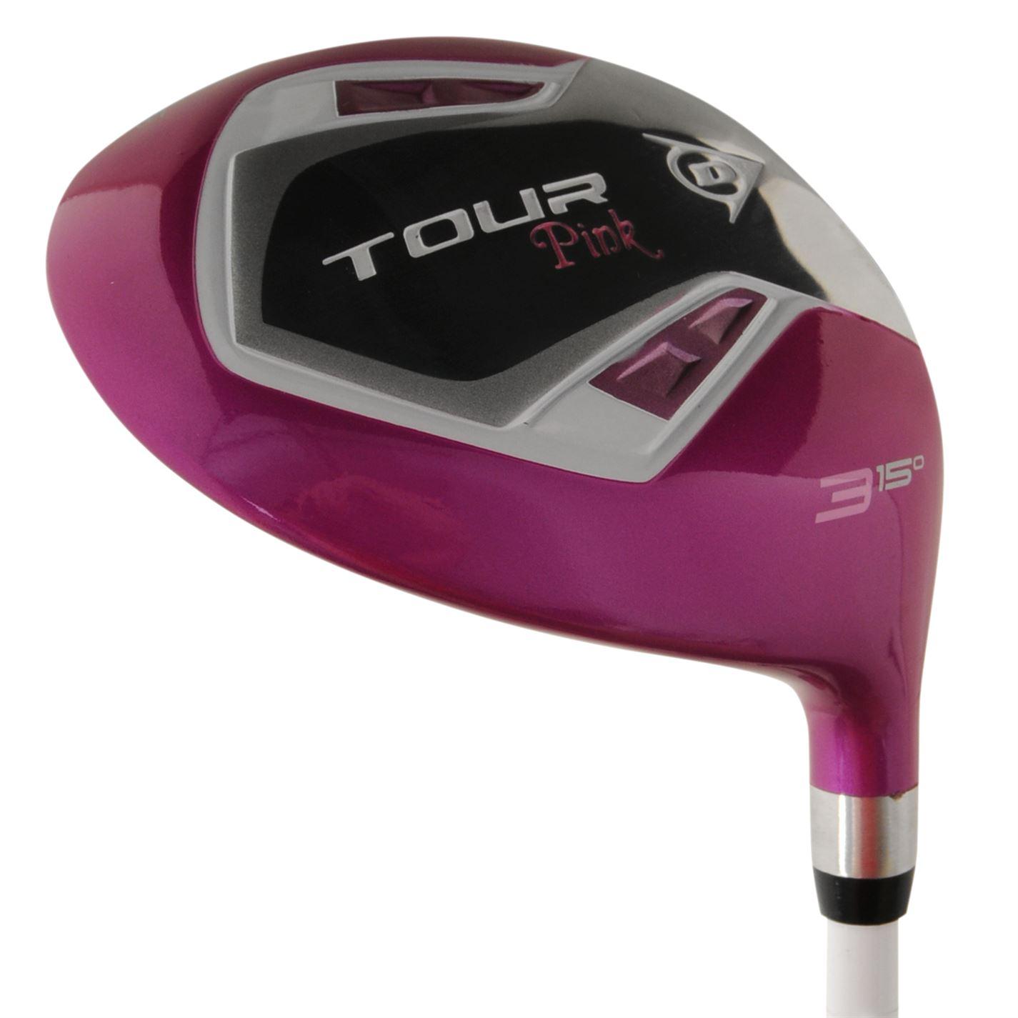 Madera de golf dunlop dama pink