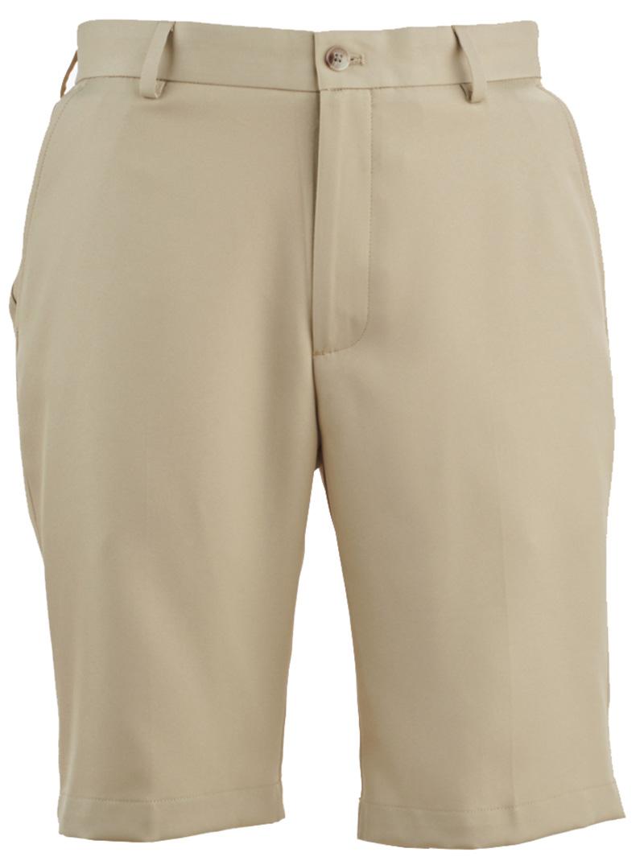 Pantalón de golf corto Greg Norman Classic flat 01