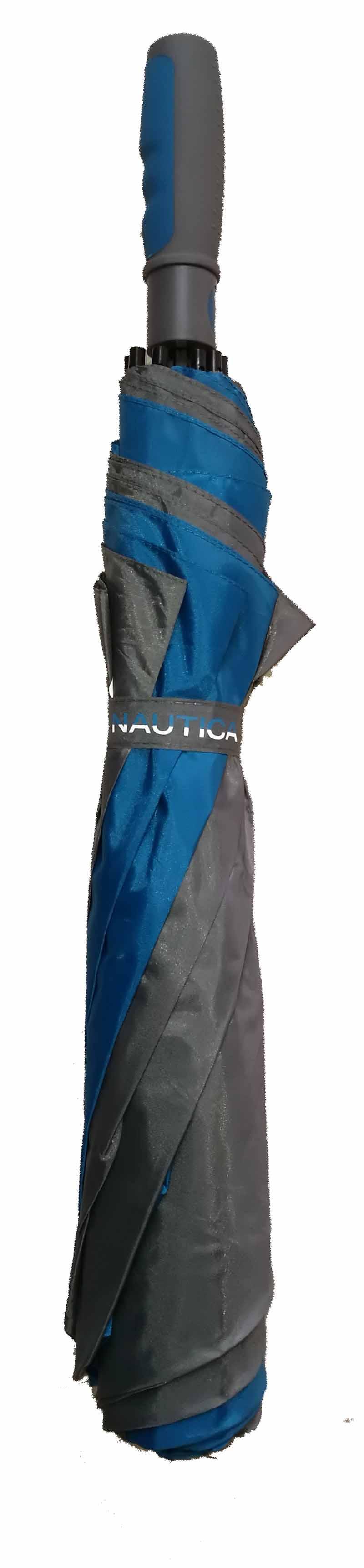 Sombrilla de golf Nautica gris 60 01