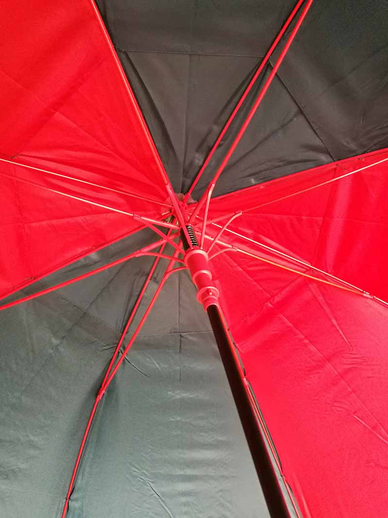 Sombrilla de golf Nautica roja 68 03
