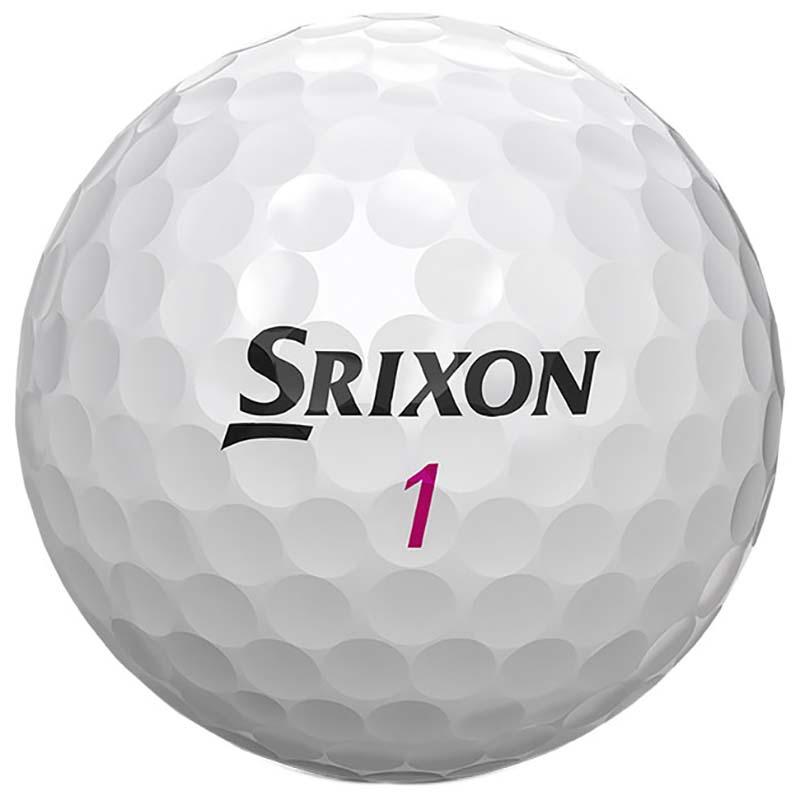 Bolas de golf Srixon Dama blancas 2019 02