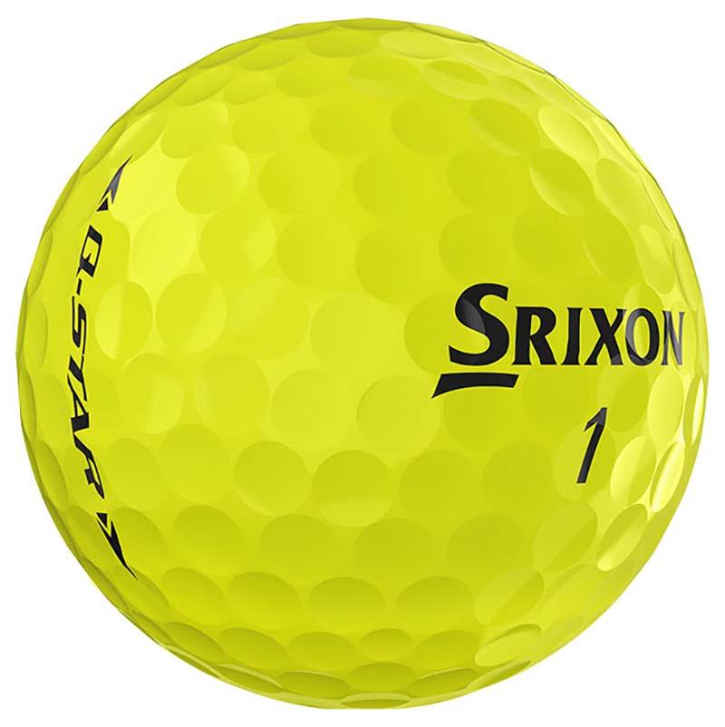 Bolas de golf Srixon amarillas Q star en golfco 02