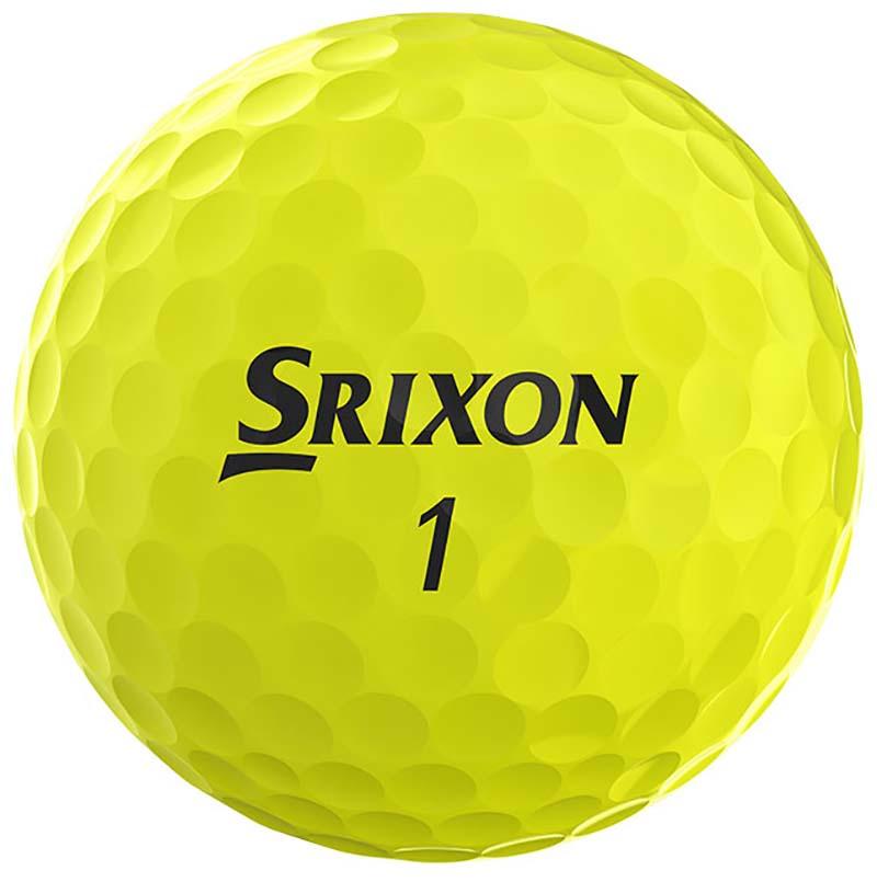 Bolas de golf Srixon amarillas Q star en golfco 03