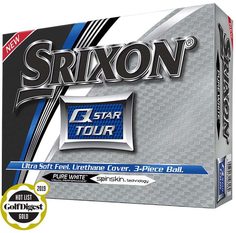 Bolas srixon Q star Tour blanca tienda de golf golfco 01