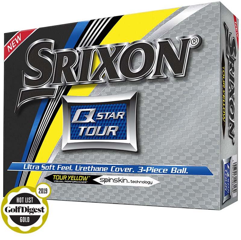 Bolas srixon Q star Tour Amarilla tienda de golf golfco 01