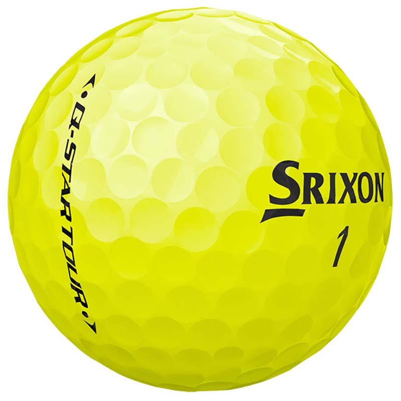 Bolas srixon Q star Tour Amarilla tienda de golf golfco 02