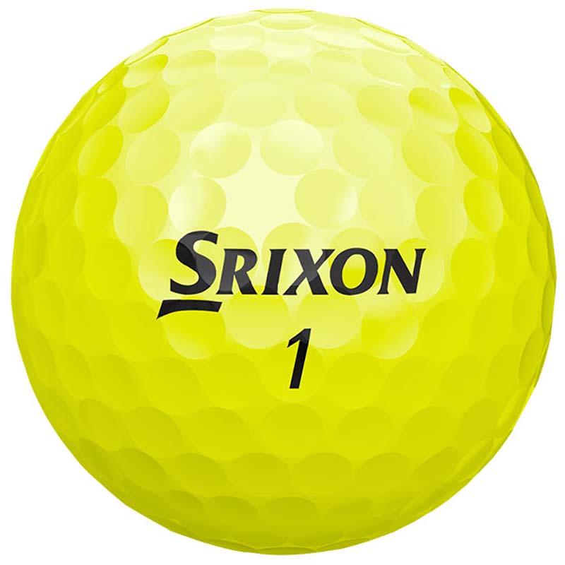 Bolas srixon Q star Tour Amarilla tienda de golf golfco 03