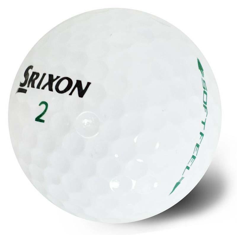 Bolas de golf Srixon soft feel blancas en tienda de golf golfco 02