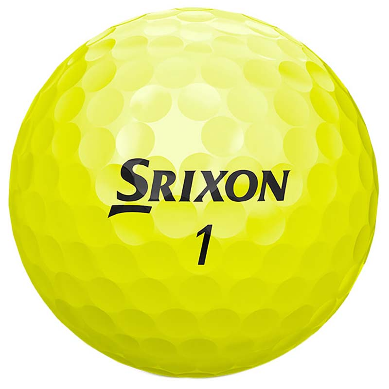 Bolas de golf Srixon soft feel amarillas en tienda de golf golfco 03