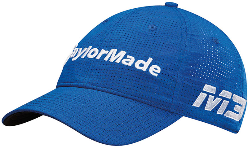 Gorra de golf Taylormade lite tech tour azul 01