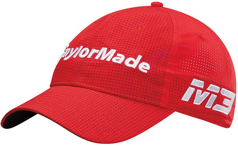 Gorra de golf Taylormade lite tech tour roja 00