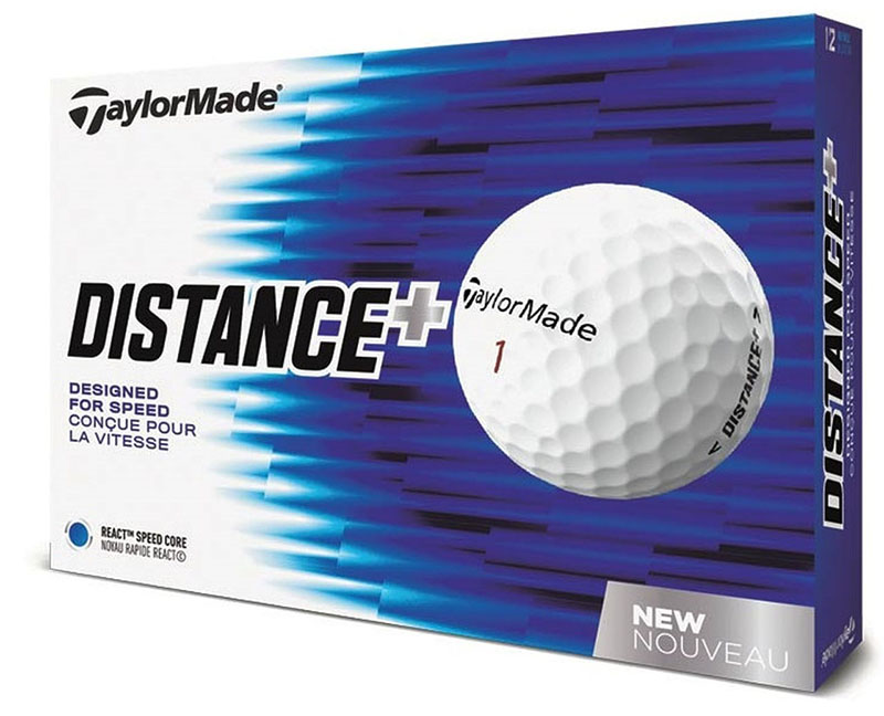 Bolas de golf TaylorMade Distance Plus 01