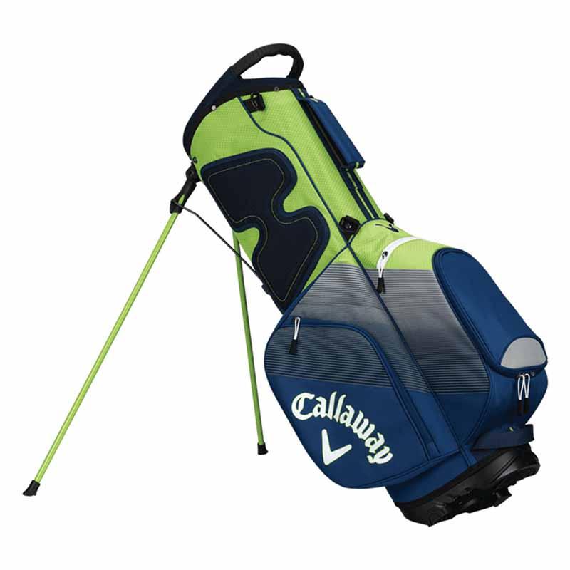 Talega de golf callaway chev verde gris y blanca 01