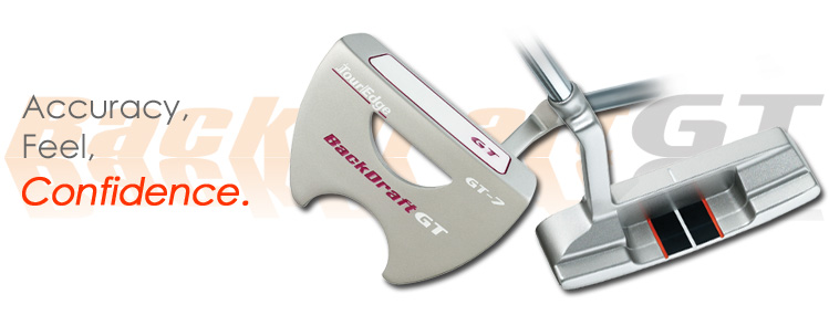palos de golf Putter Tour Edge Backdraft GT 03