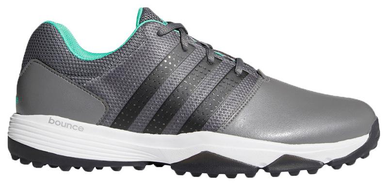 Zapatos de golf adidas 360 Traxion grises 01